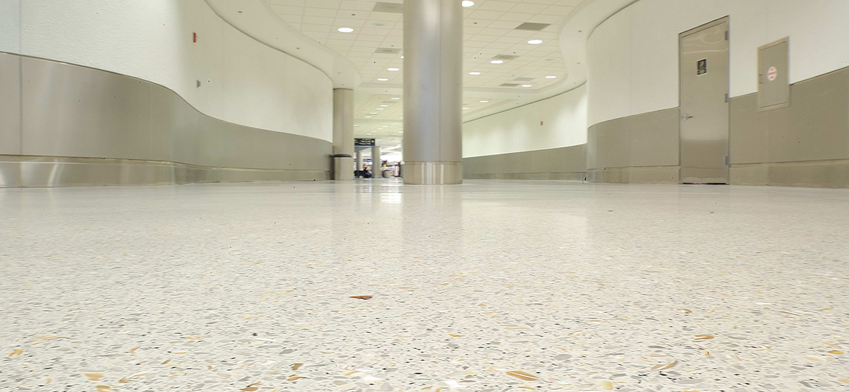 Common Places To Find Terrazzo Flooring Klein Co - How are terrazzo floors made